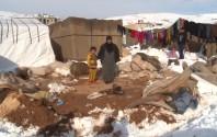 Syrische Flüchtlinge in Libanon