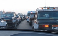 Taxifahrt in Kairo