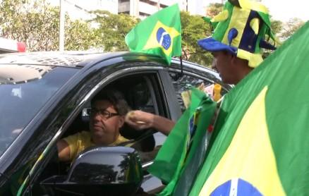 Strassenverkäufer in Brasilien
