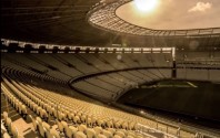 Stadium in Brasilien