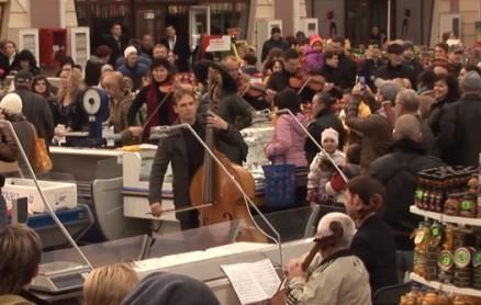 Strassenmusik in Odessa