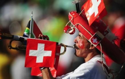 Schweiz-Fan