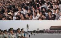 Tiananmen vor 25 Jahren und heute